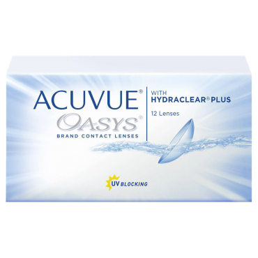 Acuvue Oasys (12) kontaktlinser från www.interlinser.se