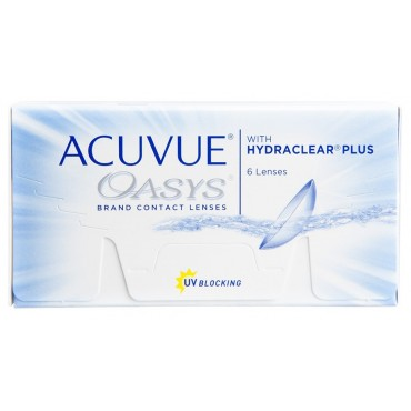 Acuvue Oasys (6) kontaktlinser från www.interlinser.se