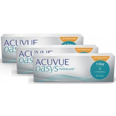 Acuvue Oasys 1-Day for Astigmatism (90)  kontaktlinser från www.interlinser.se