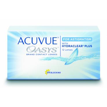 Acuvue Oasys for Astigmatism (12) kontaktlinser från www.interlinser.se