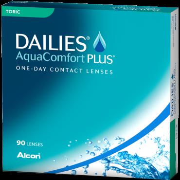 Dailies Aquacomfort Plus Toric (90) kontaktlinser från www.interlinser.se