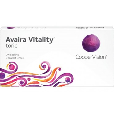 Avaira Vitality Toric (6) kontaktlinser från www.interlinser.se