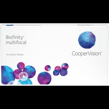 Biofinity Multifocal (6) kontaktlinser från www.interlinser.se
