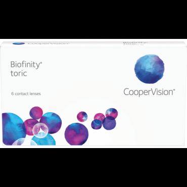 Biofinity Toric (6) kontaktlinser från www.interlinser.se