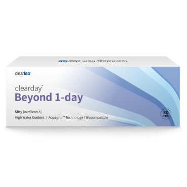 Clearday Beyond 1-Day (30) kontaktlinser från www.interlinser.se