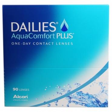 Dailies AquaComfort Plus (90) kontaktlinser från www.interlinser.se