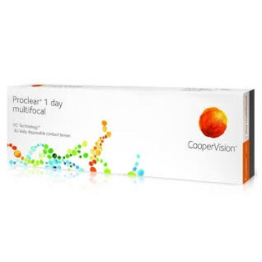 Proclear 1-Day Multifocal (30) kontaktlinser från www.interlinser.se