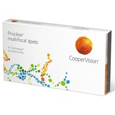 Proclear Multifocal Toric (3) kontaktlinser från www.interlinser.se
