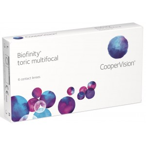 Biofinity Toric Multifocal 6-pack