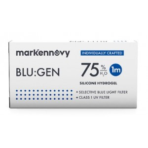 Blu:gen Multifocal contact lenses 1-pack