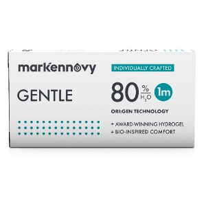 Gentle 80 contact lenses 6-pack